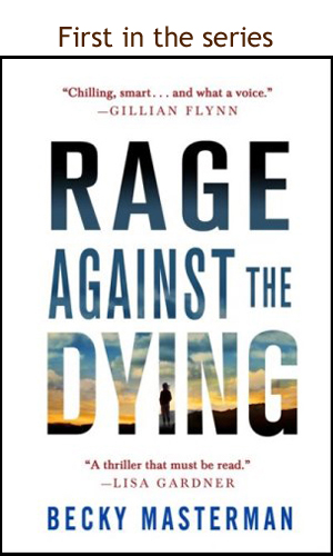 Rage Against the Dying - Becky Masterman Author